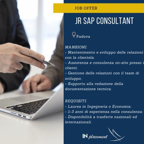JR SAP CONSULTANT